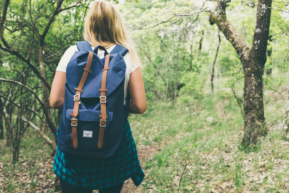 How being in the wilderness produces your brave moments